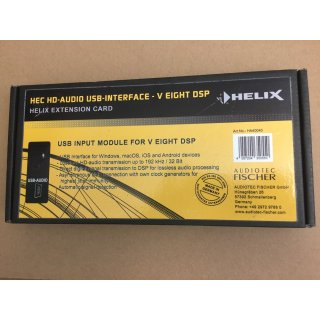 Helix HEC HD-Audio USB-Imterface - V Eight DSP - Extension Card
