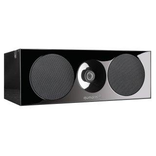 QUADRAL Platinum+ One Base Schwarz Center-Lautsprecher UVP 900,00