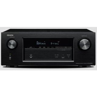 Denon AVR-X2200W, Schwarz Aussteller - 7.2-Kanal Full 4K Ultra HD A/V-Receiver mit WLAN und Bluetooth UVP war 699 €