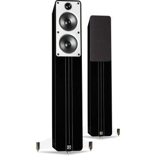 Q Acoustics Concept 40 Schwarz - N1 - Standlautsprecher, Paar UVP 1398 €