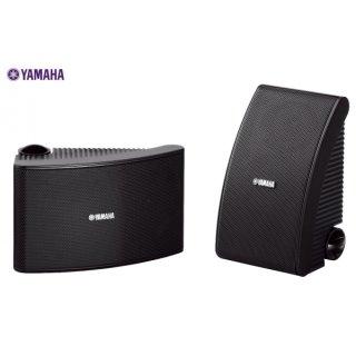 Yamaha NS-AW392 Schwarz, Aussteller - Spritzwassergeschützter, UV-Licht beständiger Aussenlautsprecher