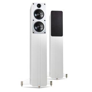 Q Acoustics Concept 40 Weiß hochglanz - Standlautsprecher Paar UVP 1398 €