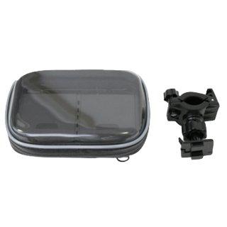 AIV - 5er Pack Fahrrad- & Motorrad Halterung mit Tasche für Handy,Navi,   400916