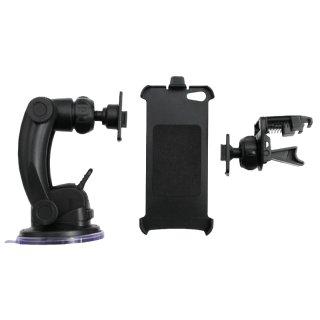 AIV Sauger- & Lüftungshalter Set Clip.On für Apple iPhone 5 - 20er Pack - 400664
