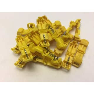 AIV Abzweigungsverbinder gelb bis 4mm²  -  232 Stück