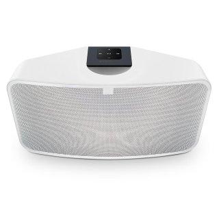 Bluesound PULSE MINI 2i Weiß Kompakter Stereo Streaming-Lautsprecher