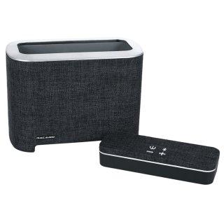 Mac Audio BT Elite 5000 Schwarz-Silber Bluetooth-Lautsprecher Akku AUX IN UVP 129 €
