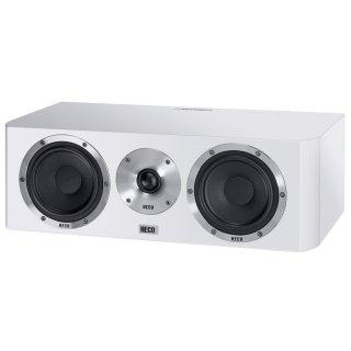 HECO Elementa Center 30 Weiss 2-Wege Bassreflex Center-Lautsprecher UVP 399 €