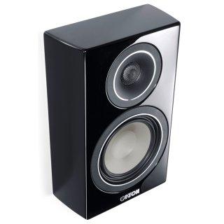 CANTON Vento 816.2 Schwarz 2-Wege OnWall Lautsprecher Paar UVP 958 €