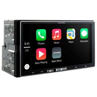 Alpine iLX-700 - 2 DIN Digital Media Receiver mit Apple Car Play und USB