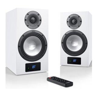 CANTON Smart GLE 3 Weiss Aktiv-Wireless Kompaktlautsprecher, Paar