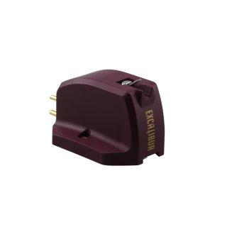 Excalibur Red - MC-Tonabnehmersystem - High Output - Diamant Shibata