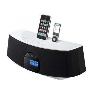 Pioneer XW-NAC3-W Weiß, Neu - Digital Sound System für iPhone & iPod