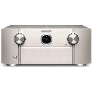 MARANTZ SR7015 Silber-Gold 9.2 AV-Verstärker 3D-Sound 8K Video HEOS Built-in
