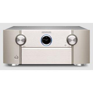 MARANTZ SR8015 Silber-Gold 11.2-Kanal AV-Verstärker 3D-Sound 8K Video HEOS Built-in