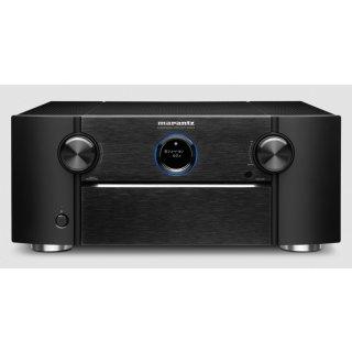 MARANTZ SR8015 Schwarz 11.2-Kanal AV-Verstärker 3D-Sound 8K Video HEOS Built-in