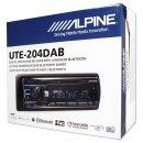 Alpine UTE-204DAB Digitalradio DAB+ / USB / Aux /...