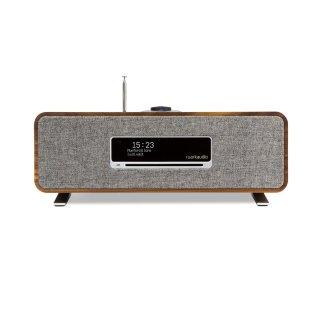 Ruark Audio R3 MK1, Walnuss - 30 Watt Musik-System, USB/Bluetooth/CD/Streaming