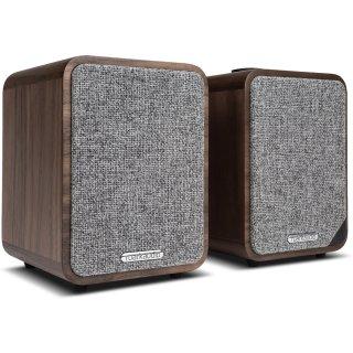 Ruark Audio MR1 MK2, Walnuss- aktive Bluetooth Lautsprecher, Paarpreis