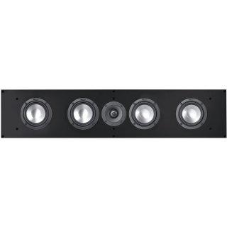 Canton Atelier 950 schwarz seidenmatt - Center- / Einbaulautsprecher, Stückpreis