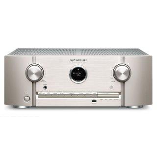 MARANTZ SR5015 Silber-Gold 7.1 AV-Receiver 3D-Sound 8K Video HEOS Built-in