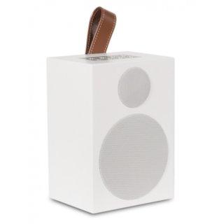 Quadral Breeze One, Weiß - Multiroom-Lautsprecher mit WLAN- und Bluetooth-Schnittstelle, AUX IN und Akku