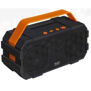 Mac Audio BT Wild 801 Schwarz-Orange Bluetooth-Lautsprecher Akku, N3 - UVP 79,99