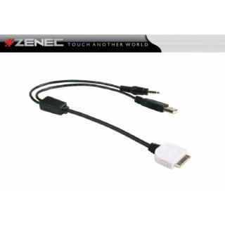 ZENEC ZE-NC-IPS - iPod/ iPhone Connection Cable for E>GO+NC620