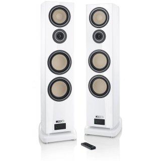 Canton SMART Reference 5 K, Weiß-Piano-Finish - Wireless High-End Aktiv-Lautsprecher, Paar