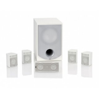 Elac 5.1 Starlet Weiß Hochglanz - 5.1 Lautsprecherset