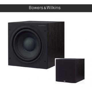 Bowers & Wilkins B&W ASW 610 Schwarz - Aktiv Subwoofer mit 200 Watt Class-D-Verstärker