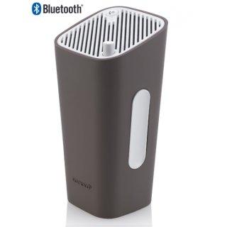 Sonoro GoNewYork Farbe Weiß / Taupe - Portabler Bluetooth-Lautsprecher mit Akku und AUX IN, UVP ¤ 129,00