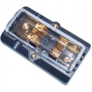 AIV 650331  Sicherung - Glassicherungshalter /Verteiler  1 x 25 qmm auf 2 x 10 qmm