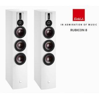 Dali Rubicon 8, Weiß Hochglanz - Bassreflex Standlautsprecher, Stückpreis