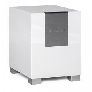 Quadral QUBE 12, Weiß - Bassreflex Aktiv-Subwoofer UVP 999 €