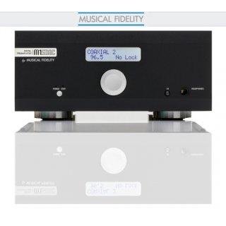 Musical Fidelity M1-SDAC, Schwarz - Vorverstärker D/A-Wandler, N1, UVP war 1149€