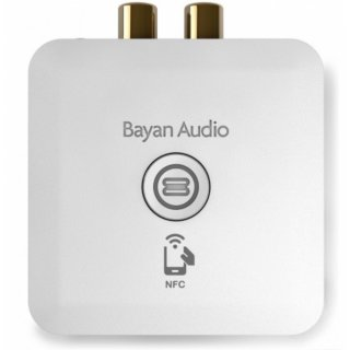 Bayan Audio StreamPort Universal, Weiß - Drahtloser Audio-Streaming Adapter