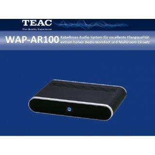 TEAC WAP-AR100 - LAN- und WLAN-fähiger Audio-Receiver zum Anschluss an eine vorhandene Stereoanlage für Klanggenuss der Spitzenklasse