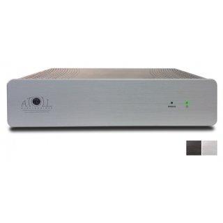 ATOLL MA 100, Schwarz - Stereo-Endstufe im Midi-Gehäuse mit 2 x 80 Watt