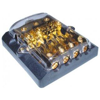 AIV 650332  Sicherung  Glassicherungshalter/Verteiler  1 x 50 qmm auf 2 x 25 qmm, 4 x 10 qmm