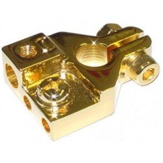 AIV 650303  Batterieklemme - Minus Batterieklemme 1 x Ringkabelschuh M8, 1 x Kabel 25 qmm, 2 x Kabel 10 qmm