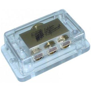 AIV 650637  Verteiler - Verteilerblock 1 x  Kabel bis 50 qmm, 3 x Kabel bis 25 qmm