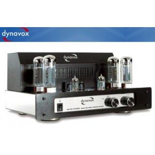 Dynavox VR-70E II Phono Chrom - Röhrenvollverstärker mit Phonovorstufe    003113