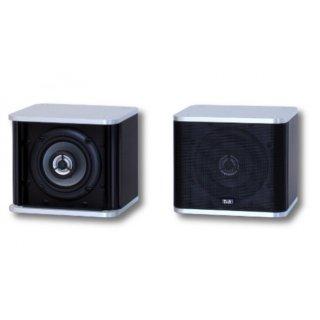 T+A K-MINI, Schwarz-Silber - Mini-Lautsprecher, K-Serie, UVP € 360,00, Stückpreis