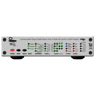MUTEC MC-3+ Smart Clock USB, Silber - Lowest-Jitter Master Clock und Audio-Re-Clocker