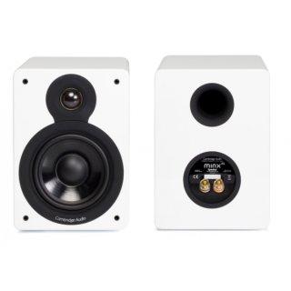 Cambridge Audio Minx XL, Weiss Hochglanz  PAAR Regallautsprecher UVP 299 €