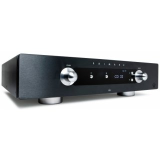 Primare I32 MM30, Schwarz - Stereo Vollverstärker mit MM30 und Bluetooth, N3