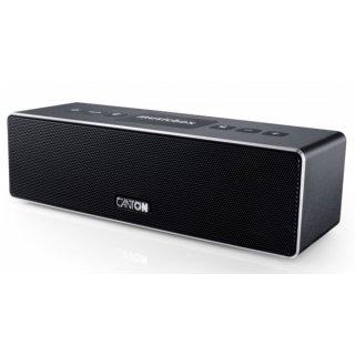 Canton musicbox XS, Schwarz Lack Seidenmatt - portabler Bluetooth Lautsprecher