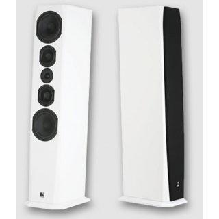Phonar Veritas p10 NEXT, Weiß Pianolack - Standlautsprecher, Stückpreis