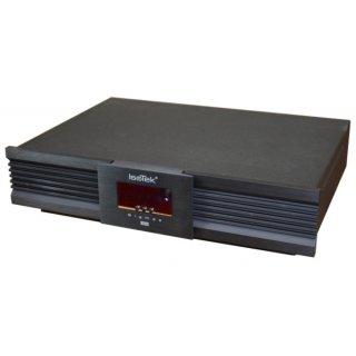 ISOTEK EVO3 Sigmas, Schwarz - Netzfilter mit vier 10 A- und zwei Hochstrom-16 A-Ausgängen, incl. Premier Netzkabel